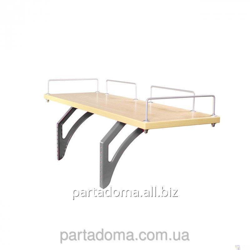 Buy The shelf back SUT.14.210 a maple / gray to Demy's school desks of SUT.14
