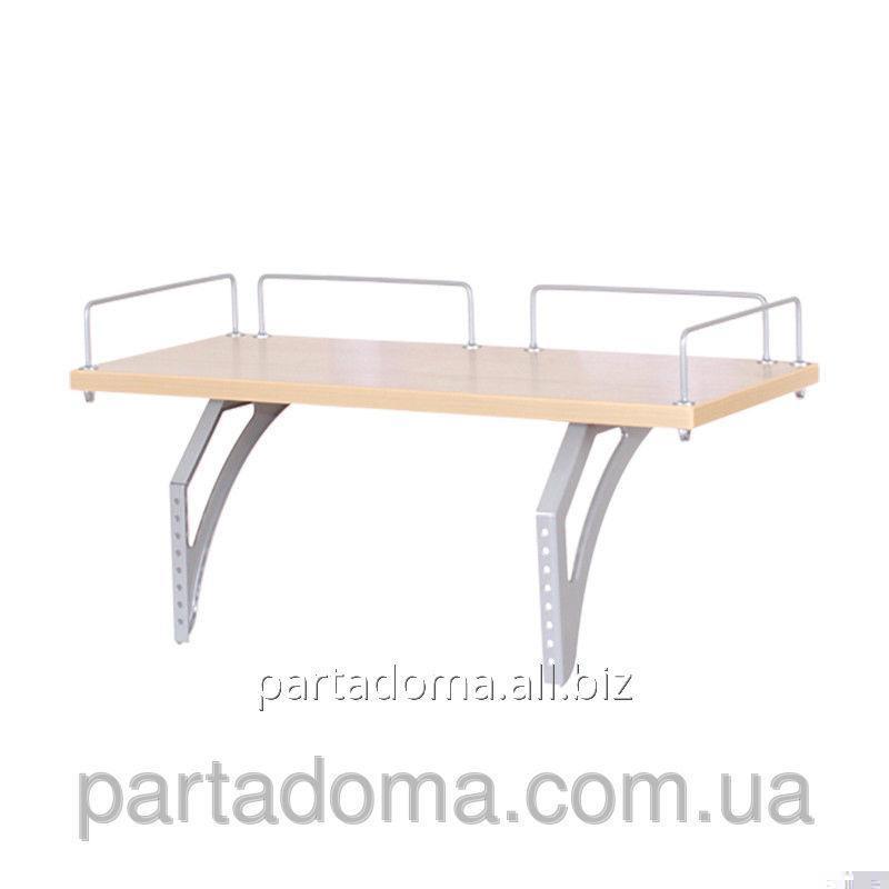 Buy The shelf back SUT.15.210 a maple / gray to Demy's school desks of SUT.15/17