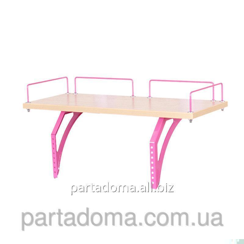 Buy The shelf back SUT.15.210 a maple / pink to Demy's school desks of SUT.15/17