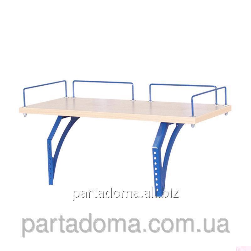 Buy The shelf back SUT.15.210 a maple / blue to Demy's school desks of SUT.15/17