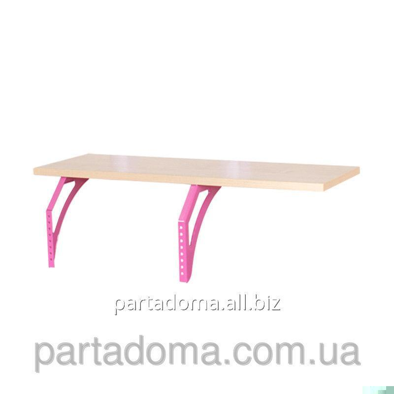 Buy The shelf hinged lateral SUT.14.230 a maple / pink to Demy's school desks of SUT.14/15/17