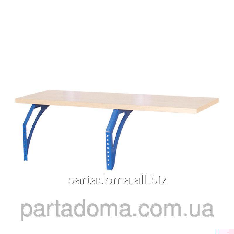Buy The shelf hinged lateral SUT.14.230 a maple / blue to Demy's school desks of SUT.14/15/17