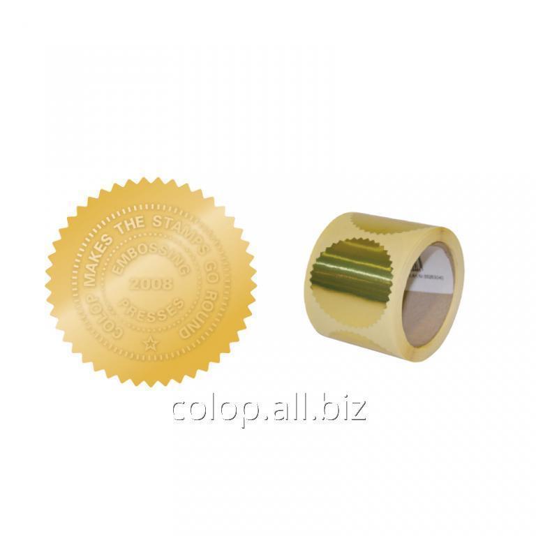Оснастка для рельефной печати Золотой лейбл