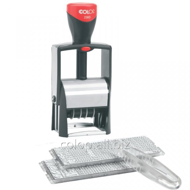 Самонаборный штамп 2360 Set