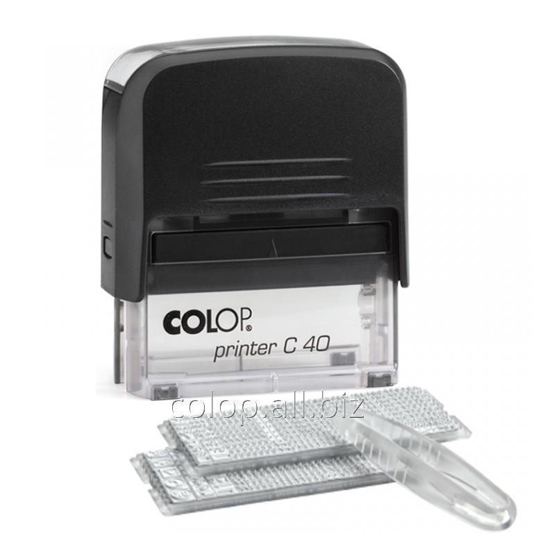 Самонаборный штамп Printer C 40/2 Set