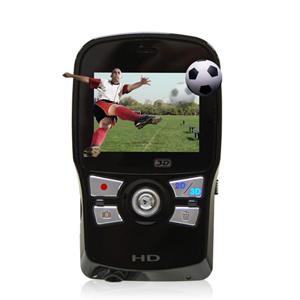 Первая в мире портативная видеокамера для съёмки фильмов с разрешением HD 720p , мод. 3D HD