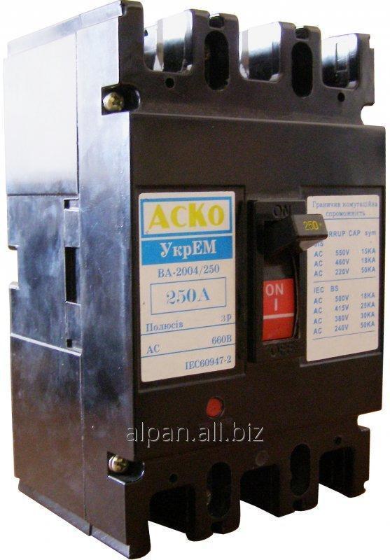 Выключатель автоматический ВА-2004/250 3р