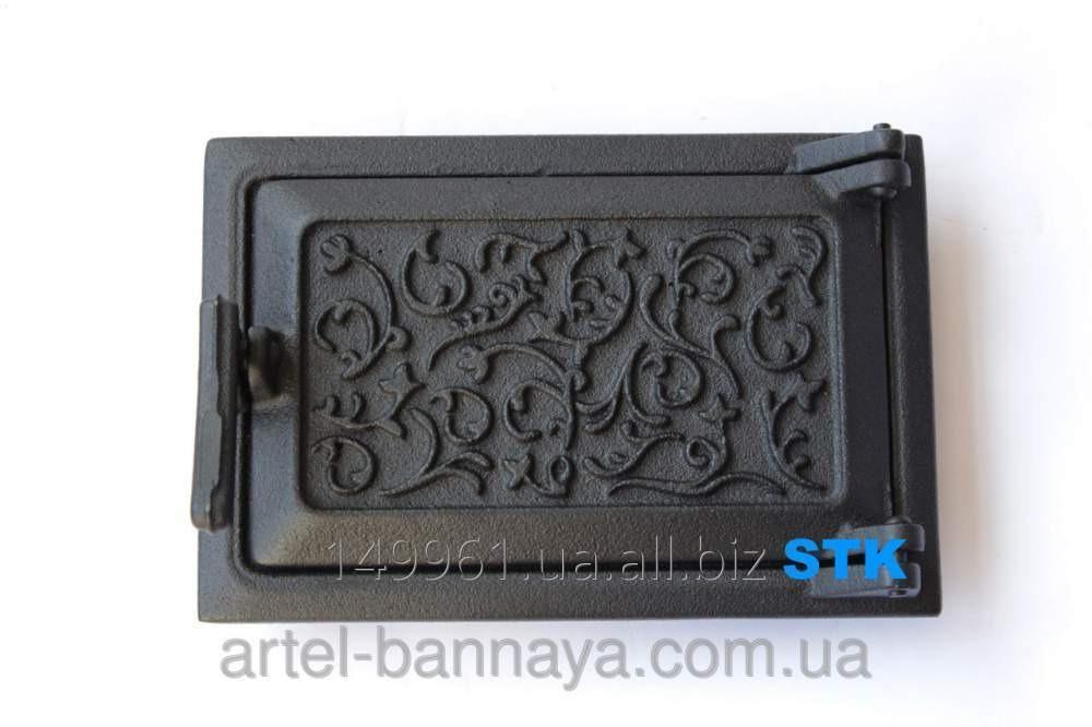 Дверь зольная STK (чугун)  (STK СЧ-52)