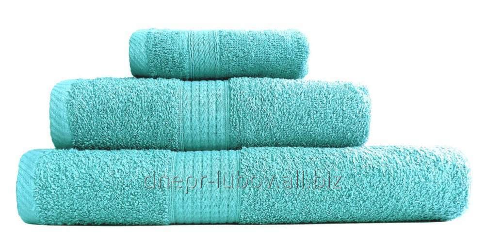 Полотенце махровое (плотность 450гр/м2), 40см*70см, бирюзовый