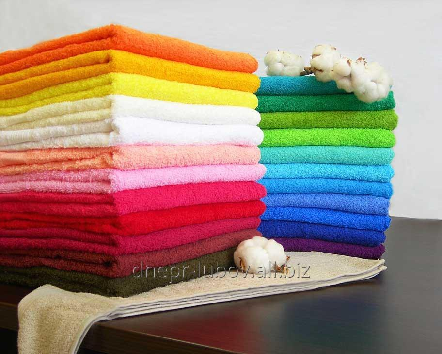Terry towel of 180/200 cm, average color