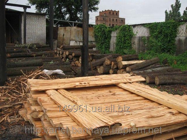 Разные виды древесины  на баню