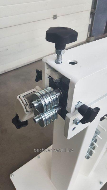 Механический рифельный станок(зиговка) - ZLB-M-12