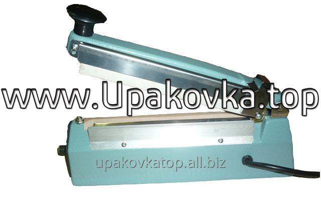 Купить Настольный запайщик пакетов с боковым ножом FS-200-С импульсного нагрева