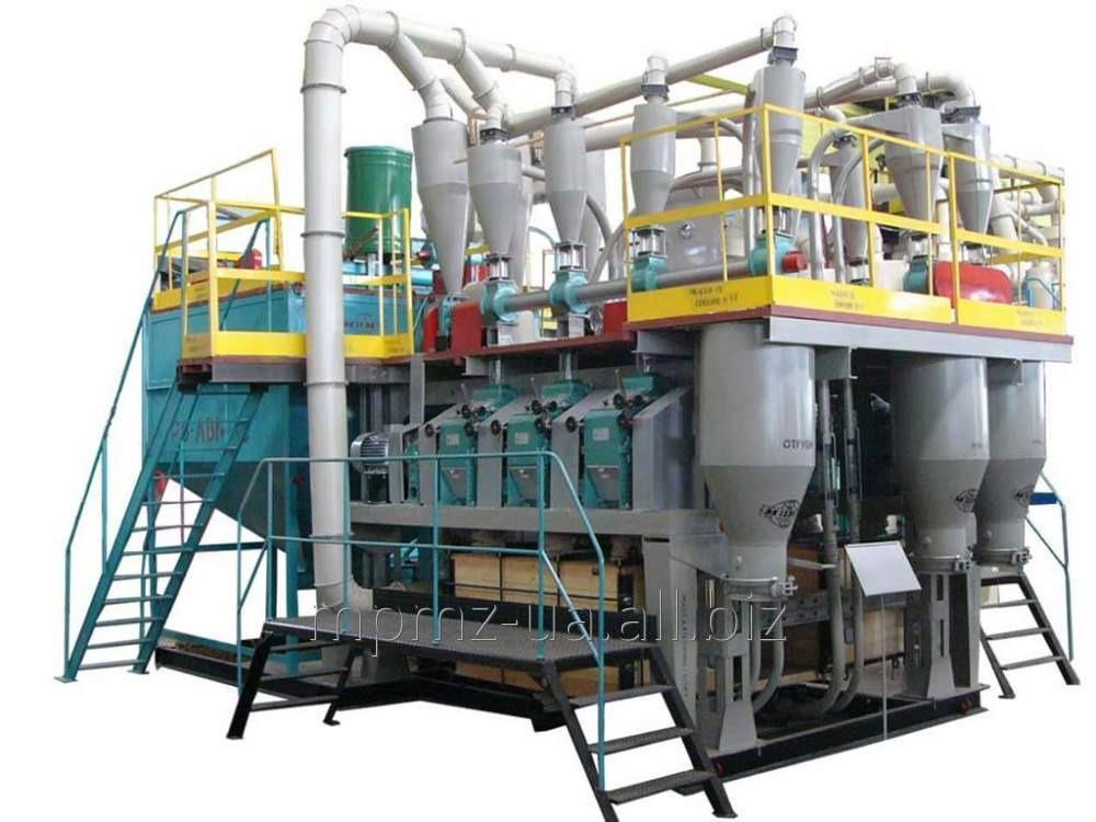 Агрегатная вальцевая мельница Р6-АВМ-15 для переработки зерна в муку высшего и первого