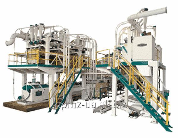 Агрегатная мельница Р6-АВМ-30 для помола зерна пшеницы