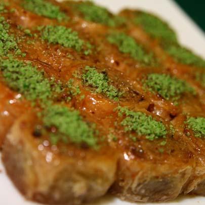 турецкая пахлава с фисташками рецепт