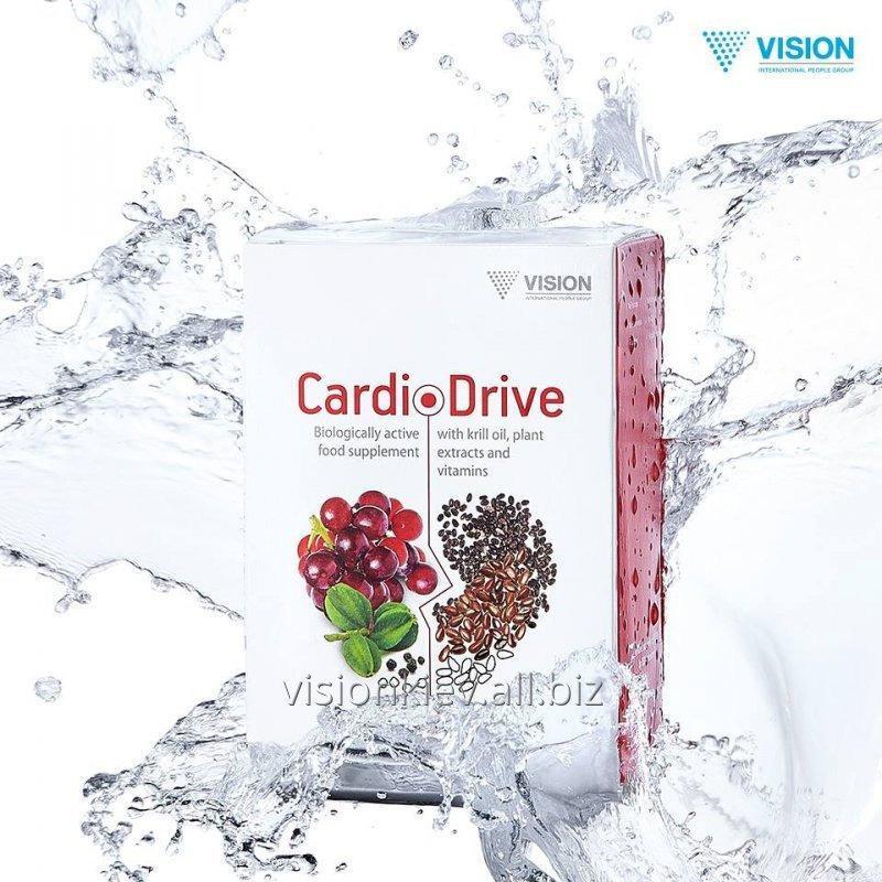 БАД, витамины для сердца и сосудов CardioDrive (КардиоДрайв) Vision
