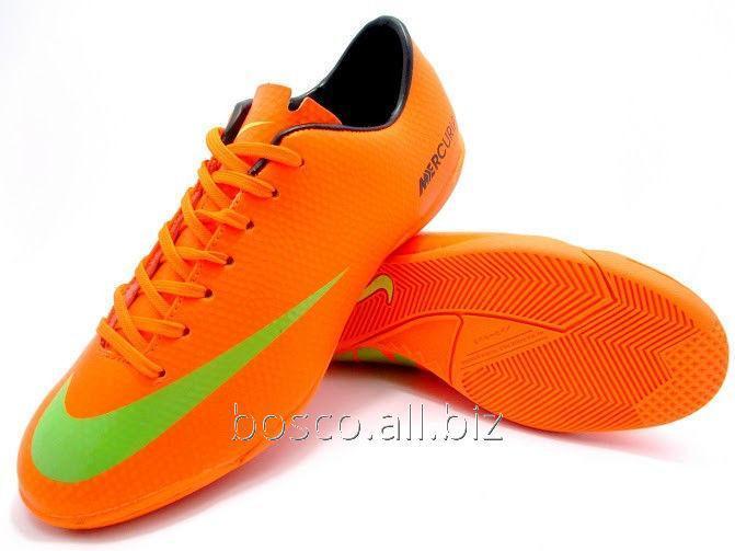 wholesale dealer 28eac 23c8a Футзалки (бампы) Nike Mercurial Victory IV IC Orange/Black/Volt