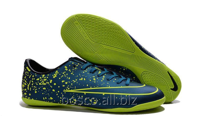 04af2718d7f12a Футзалки (бампы) Nike Mercurial Victory X IC Squadron Blue/Black/Volt