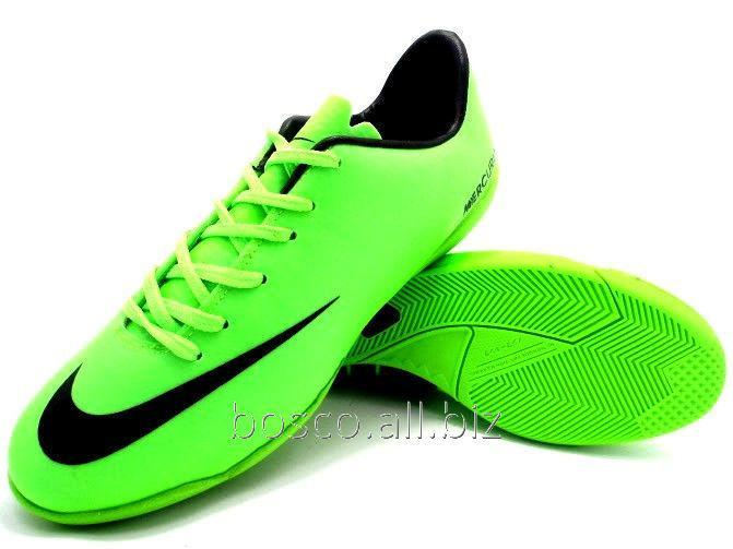 separation shoes 57dd6 3eb28 Children s futzalka (bampa) of Nike Mercurial Victory IV IC Neo Lime Black