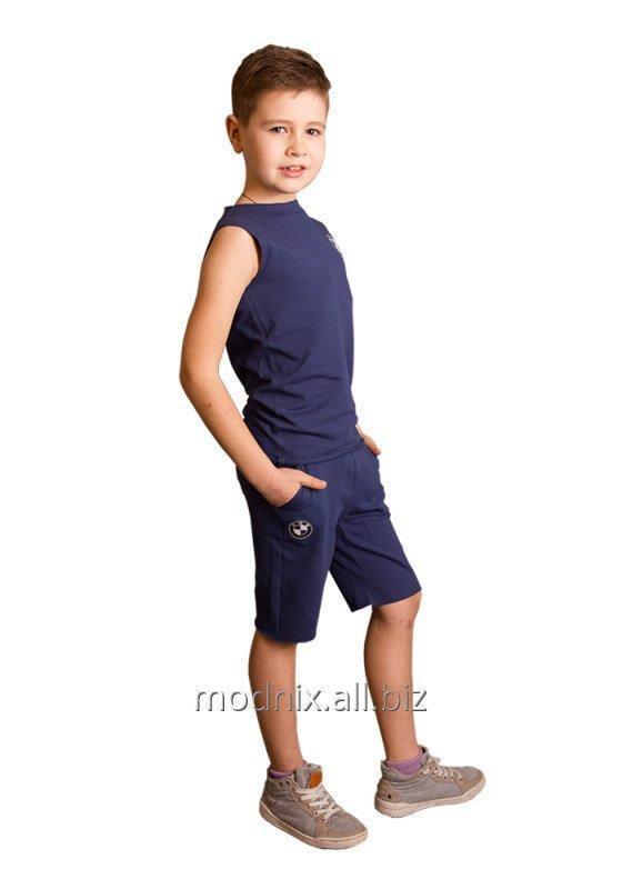 Шорты спортивные до колена для мальчика Т-63, размер 68, 80, 92