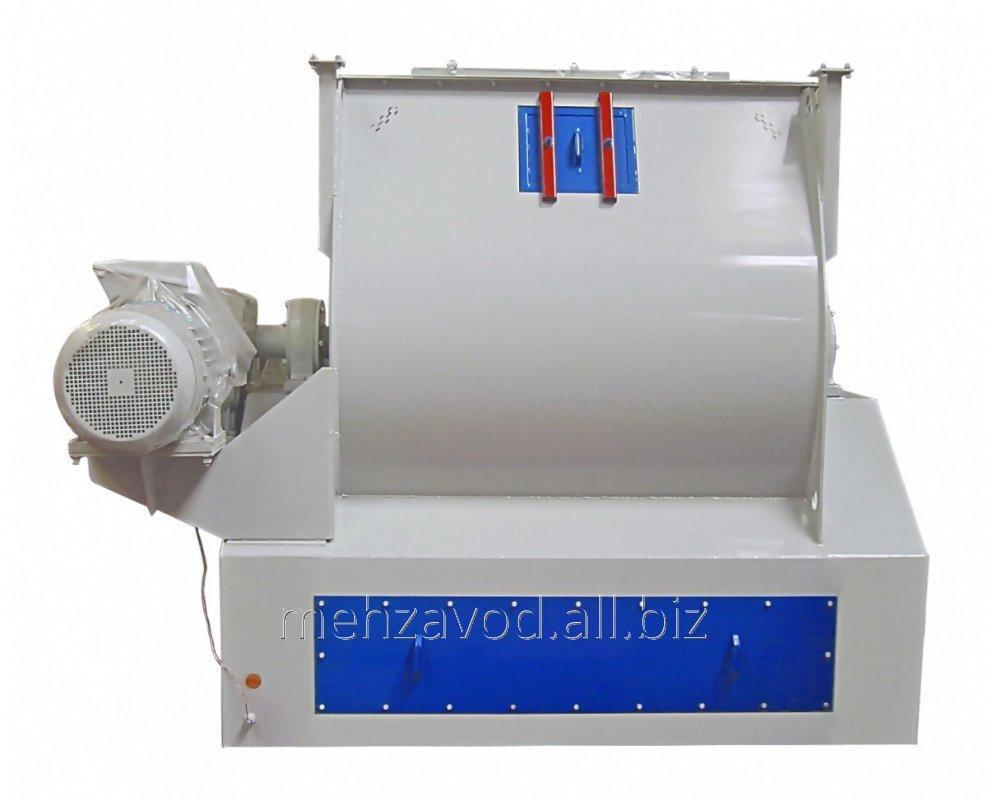 Купить Смеситель горизонтальный скребково-лезвийный периодического действия марки ЗСЛ-2000