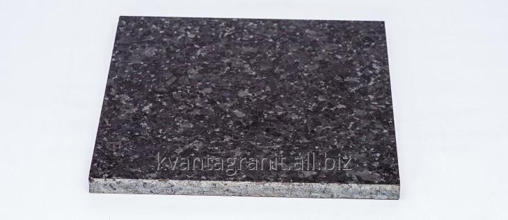 Плитка пиленая длина 300 мм, ширина 300 мм, высота от 20 до 50 мм, Лабрадорит