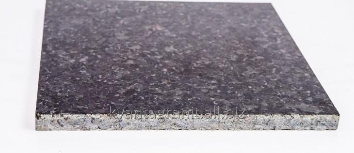 Плитка пиленая длина 600 мм, ширина 300 мм, высота от 20 до 50 мм, Лабрадорит