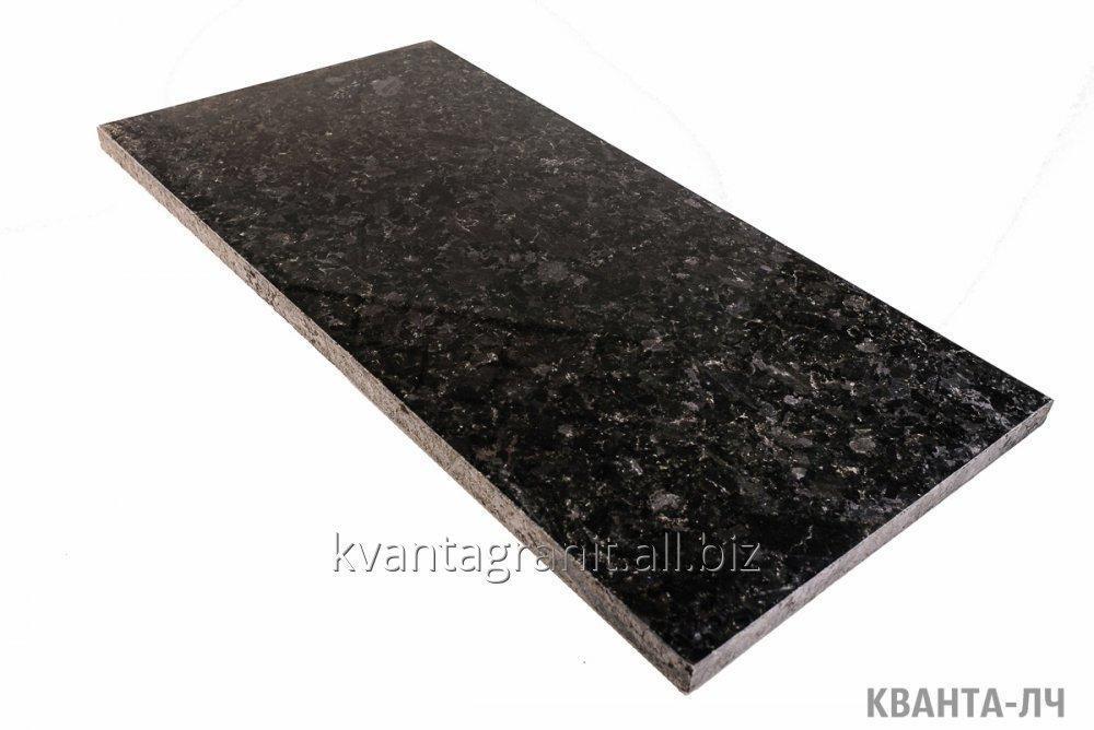 Плитка полированная длина 600 мм, ширина 600 мм, высота от 20 до 50 мм, Лабрадорит