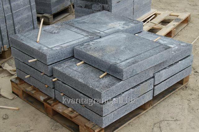 Купить Плитка бучардированная длина 600 мм, ширина 600 мм, высота от 30 и выше мм, Дидковичи