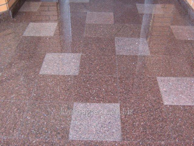 Купить Плитка полированная длина 300 мм, ширина 300 мм, высота от 20 до 50 мм, Човнова