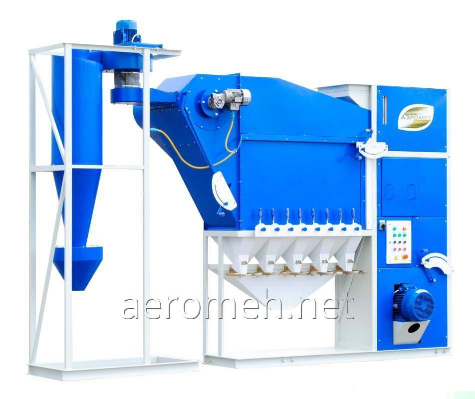 Buy Grain cleaning machine CAD-10 with the cyclone