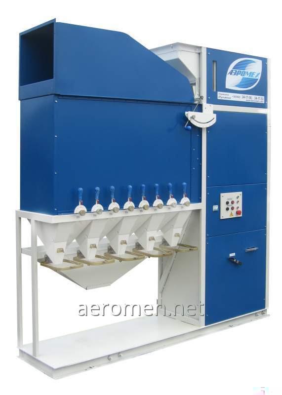 Сепаратор аэродинамический САД-15 для очистки зерна