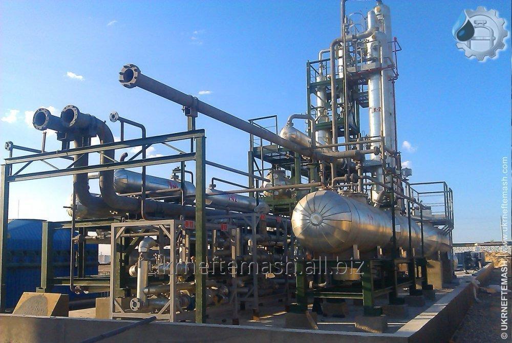 """Установка """"OPTIMA"""" по производству бензиновой фракции, дизельного топлива и мазута"""