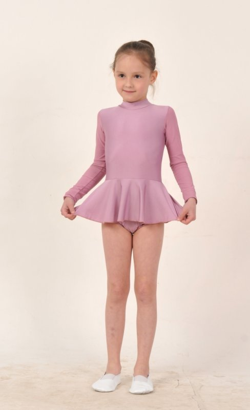 Трико гимнастическое с юбкой Т186
