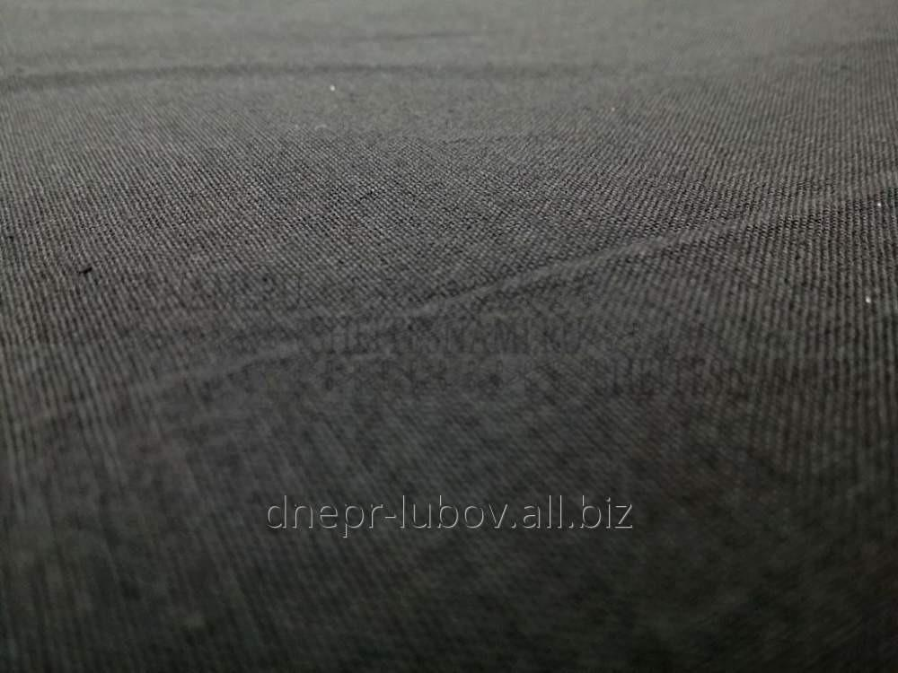 Бязь (черная, оливка) 150 см, 140 г/м2, гладкокрашеная