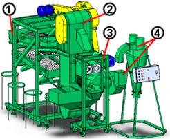 Линии по переработке спельты (полба)- крупяной завод