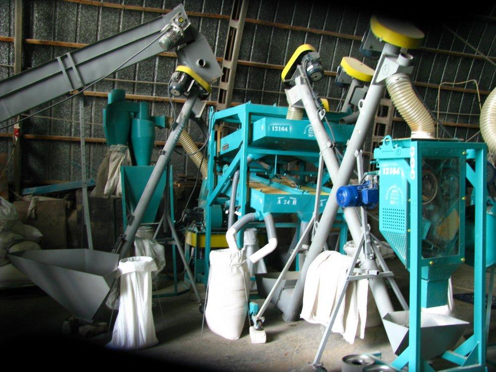 Мини-крупоцех для переработки зерновых
