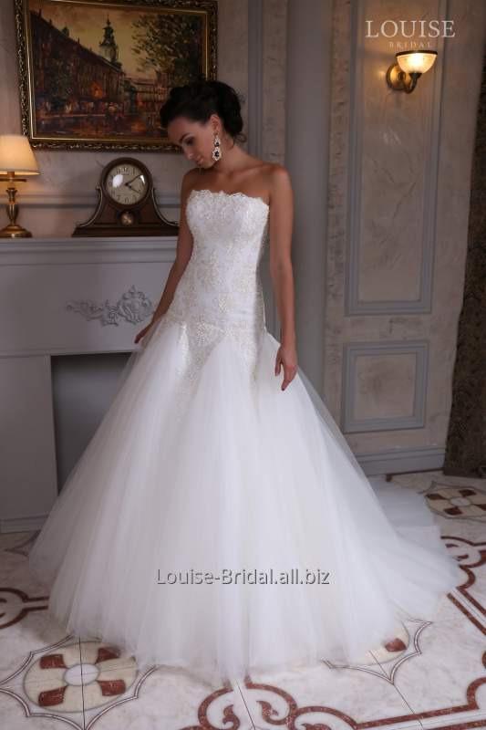 Платье свадебное весна-лето 2015 Louise Bridal Zlata