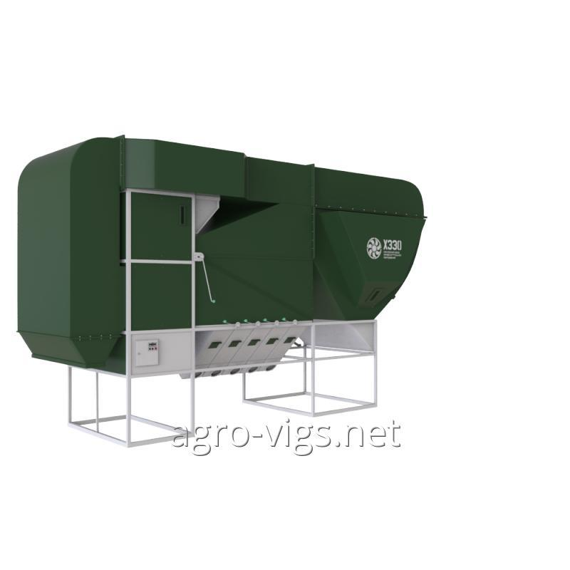 Grain separator ISM-200 CSC, grain cleaning