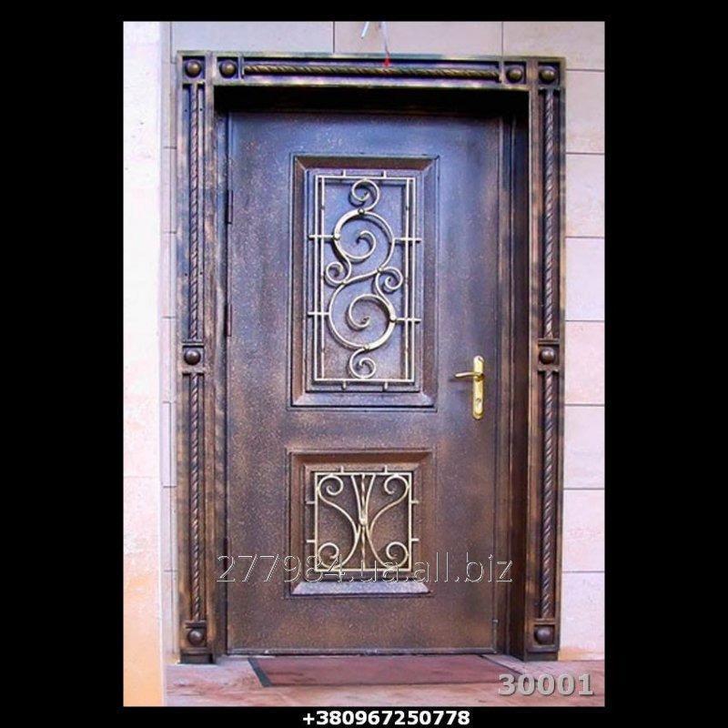 Кованные двери КД 30001
