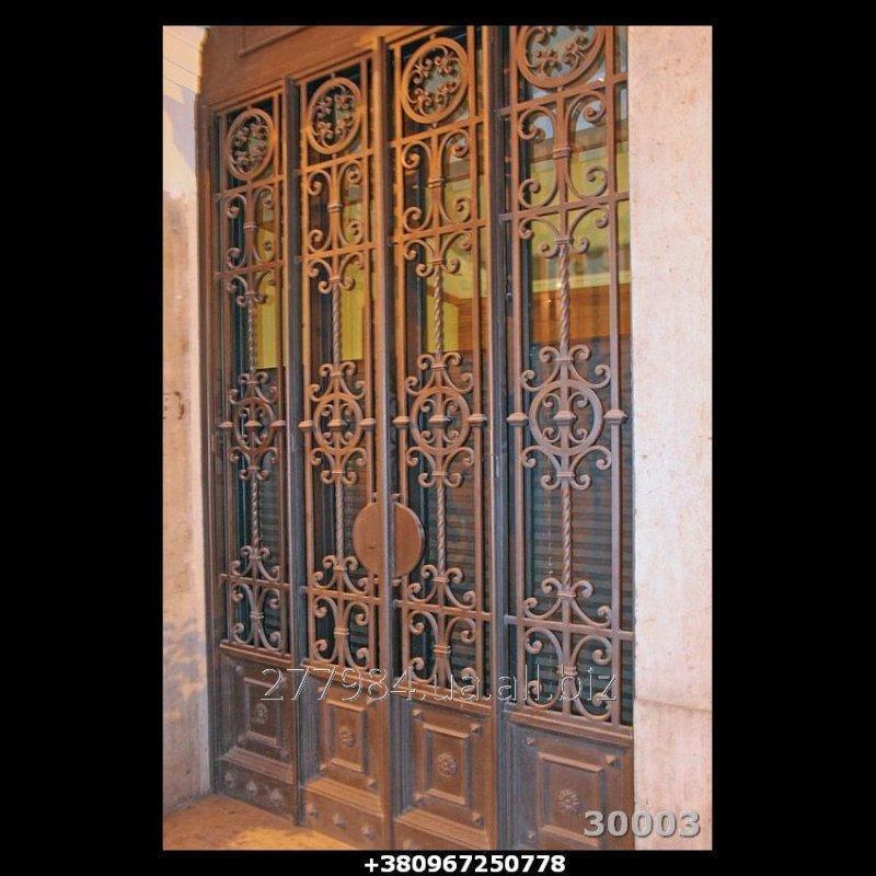 Кованные двери КД 30003