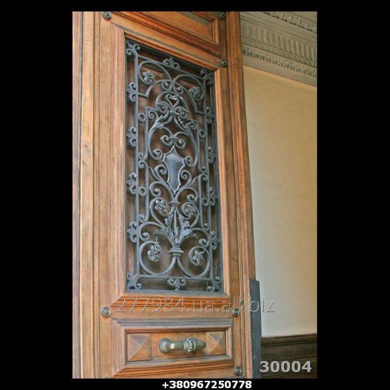 Кованные двери КД 30004