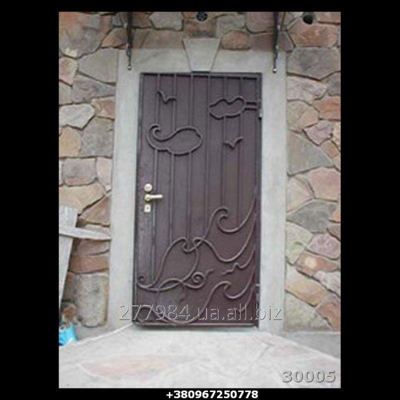 Кованные двери КД 30005