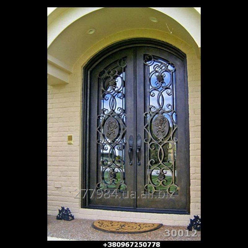 Кованные двери КД 30012