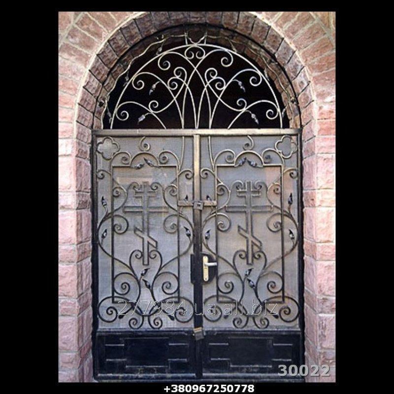Кованные двери КД 30022