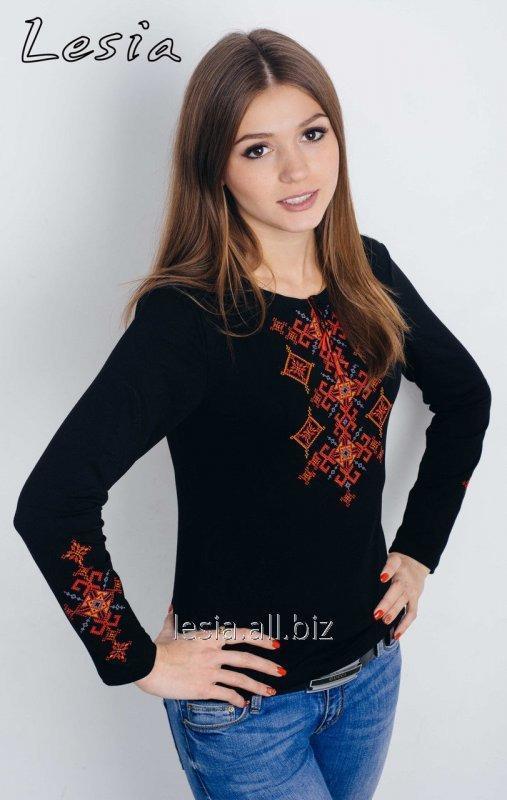 Жіноча вишиванка Русинка червона код 1131441