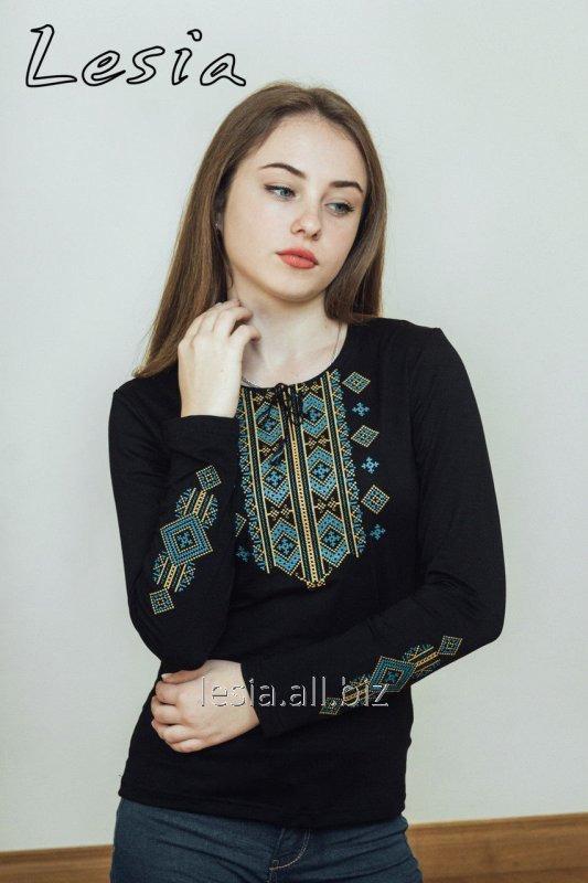 Жіноча вишиванка Гуцулка Нова бірюза код 1131486