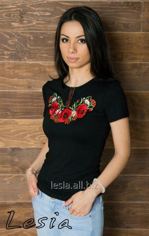 Жіноча футболка Маковий цвіт код 1110241