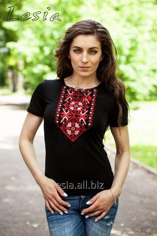 Жіноча вишиванка Подолянка червона код 1110391